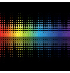 music color 02 vector image