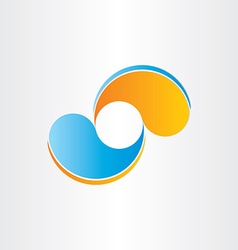 Abstract business icon company design element vector