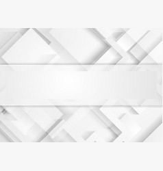 abstract light grey technology geometric vector image