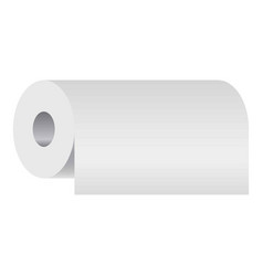 blank household accessory soft absorbing cylinder vector image
