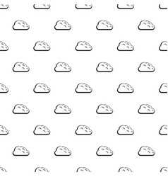 storm cloud pattern vector image