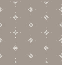 Taupe simple seamless pattern vector