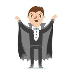 Vampire character vector
