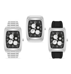 wristwatch 08 vector image