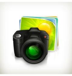 Photo icon vector image vector image