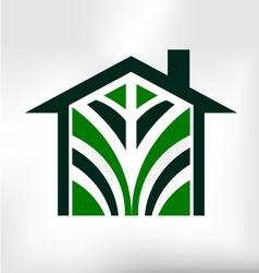 House Icon Modern Logo vector image vector image