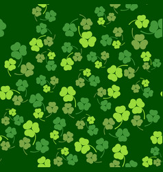 patricks day seamless vector image