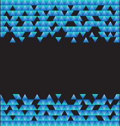 abstract background from triangles vector image