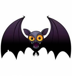 halloween vampire bat vector image vector image