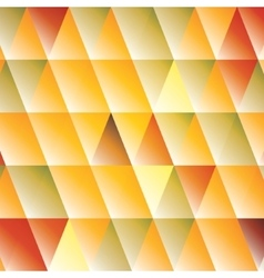 Abstract triangle autumn-colored background vector image