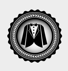 clothas man design vector image