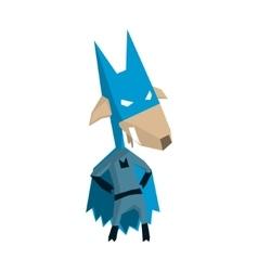 Goat Super Hero Character vector image