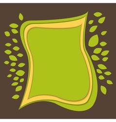 Green paper bg vector