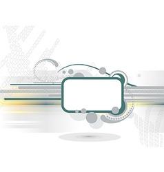 Grunge banner frames vector