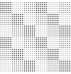 halftone seamless pattern background design vector image