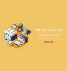 Kitchen home appliance electronics sale vector