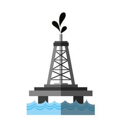 Oil industry related icon imag vector