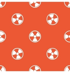 Orange hazard pattern vector image