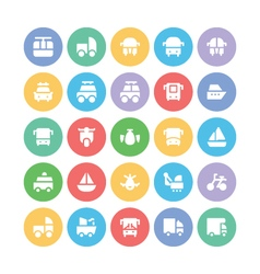 Transport Bold Icons 8 vector