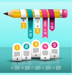 infographic layout infographics web design with vector image vector image