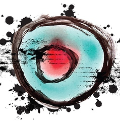 art grunge design background vector image