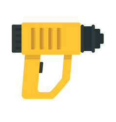 Impact drill icon flat style vector