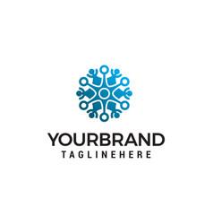 Interior decoration logo design concept template vector