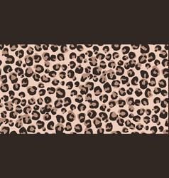 Leopard cheetah seamless pattern animal print vector