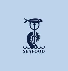 nautical logo vector image