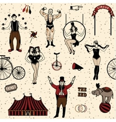 Pattern circus vector