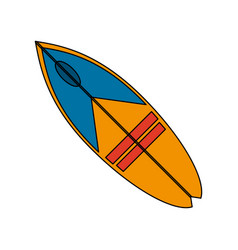 surfboard surf icon image vector image