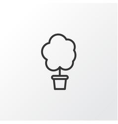 Tree icon symbol premium quality isolated wood vector