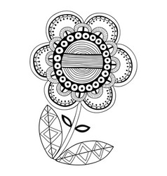 black and white of a fancy vector image