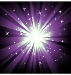 ray lights background vector image vector image
