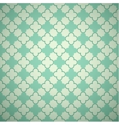 Retro mint different seamless patterns vector image vector image