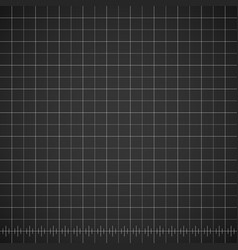 Blueprint blank drawing template with dark vector