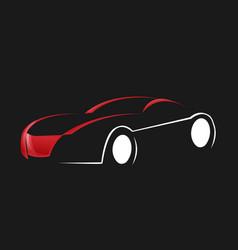 car auto automotive logo template vector image