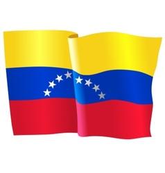 Flag of Venezuela vector