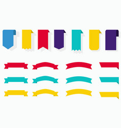 Free labels collection vector