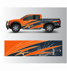 Graphic abstract stripe racing modern designs vector