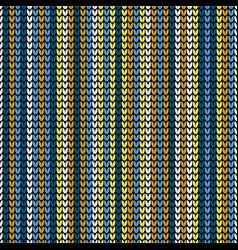 seamless vertical knitting wallpaper vector image