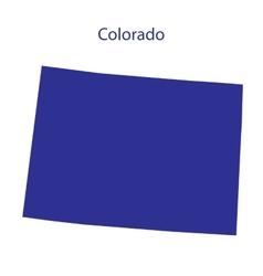 United States Colorado vector image