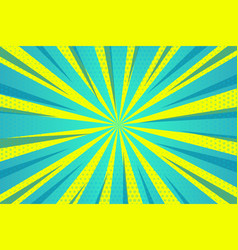 Abstract green yellow zoom lines empty background vector