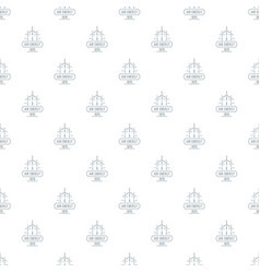 Air energy pattern seamless vector