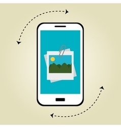 blogging concept design vector image
