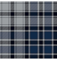Blue check plaid seamless pattern vector