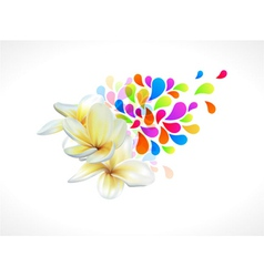 Colorful floral vector