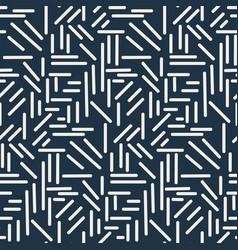 Dashes sticks seamless pattern vector