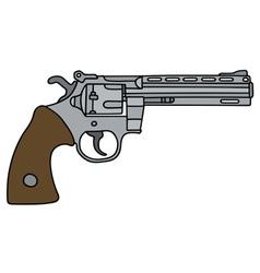 Long big revolver vector