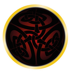 Magic celtic sign vector